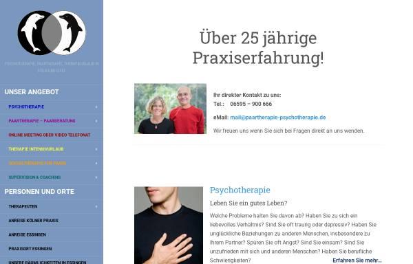 Vorschau von www.paartherapie-psychotherapie.de, Joy: Heilpraktiker Praxis für Paartherapie und Psychotherapie