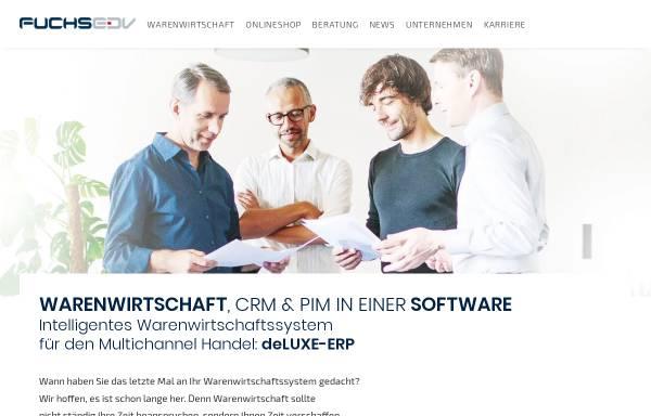 Vorschau von www.fuchs-edv.de, Fuchs EDV Vertriebs GmbH