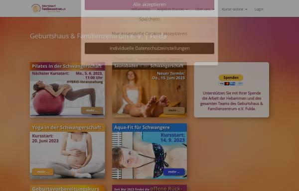 Vorschau von www.geburtshaus-fulda.de, Geburtshaus und Familienzentrum e. V. Fulda