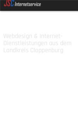 Vorschau der mobilen Webseite www.jsc-internetservice.de, JSC Internetservice, Inh. Jörg Schramm