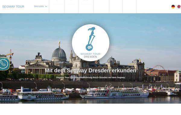 Vorschau von www.seg-tour-dresden.de, Segway Tour Dresden
