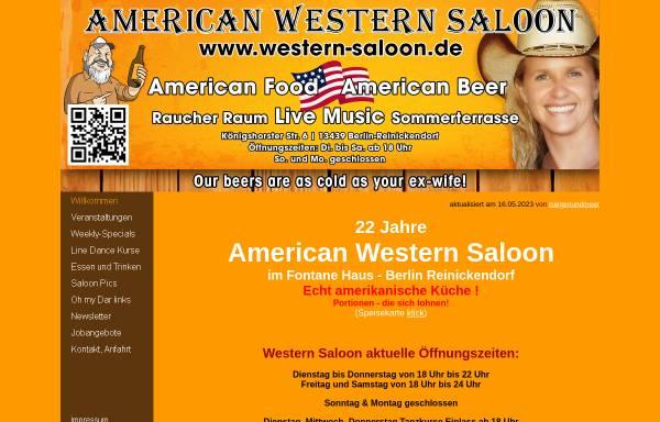 Vorschau von www.western-saloon.de, American Western Saloon