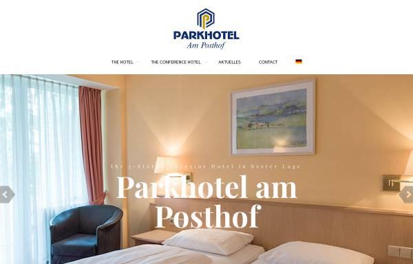 Vorschau von www.frankfurtairport-hotel.de, Parkhotel am Posthof