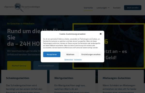 Vorschau von www.kehr-gutachten.de, Allgemeine Kfz-Sachverständigen GmbH