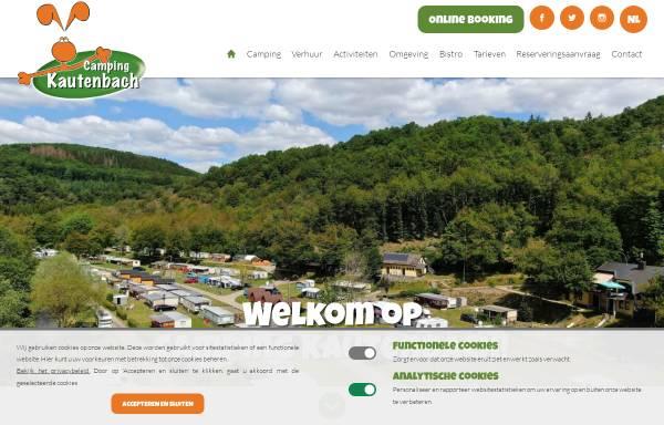 Vorschau von campingkautenbach.lu, Camping Kautenbach