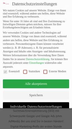 Vorschau der mobilen Webseite www.ffm-crossmedia.de, Ffm crossmedia - Agentur für Internet und digitale Medien