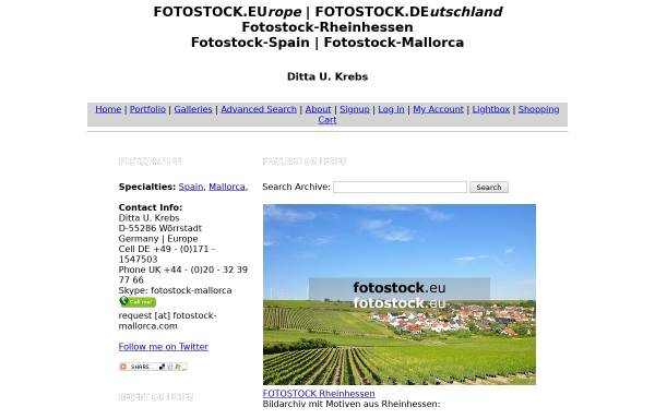 Vorschau von fotostock-mallorca.photoshelter.com, Fotostock Mallorca - Ditta U. Krebs