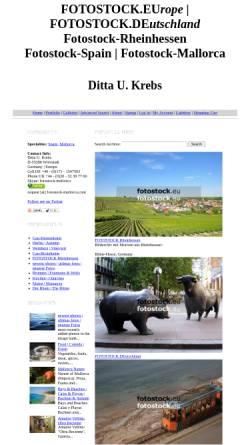 Vorschau der mobilen Webseite fotostock-mallorca.photoshelter.com, Fotostock Mallorca - Ditta U. Krebs