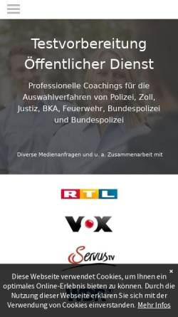 Vorschau der mobilen Webseite www.accoaching.de, Ac!COACHING