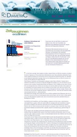 Vorschau der mobilen Webseite www.diametric-verlag.de, Zur Konstruktion des Weiblichen, Robin Britta Georg, Geschlechterforschung, Diametric Verlag