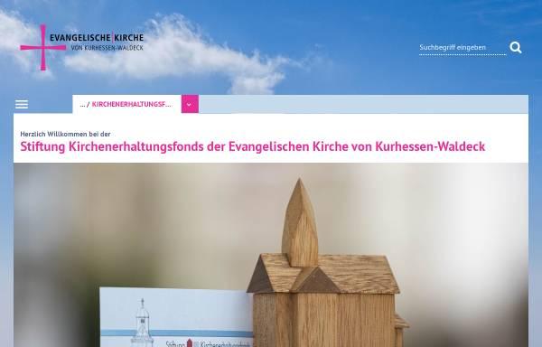Vorschau von www.ekkw.de, Stiftung Kirchenerhaltungsfonds