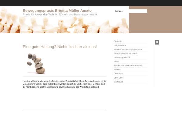 Vorschau von www.bewegungspraxis.com, Brigitta Müller Amato