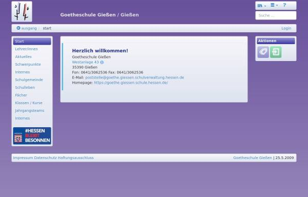 Vorschau von goethe.giessen.schule.hessen.de, Goetheschule Gießen