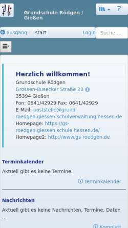 Vorschau der mobilen Webseite gs-roedgen.giessen.schule.hessen.de, Grundschule Rödgen