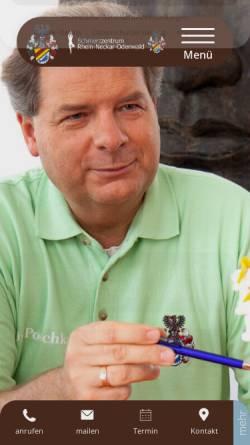 Vorschau der mobilen Webseite www.schmerz.info, Dr. med. Andreas Potschka