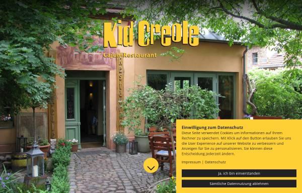 Vorschau von www.kidcreole.de, Restaurant Kid Creole