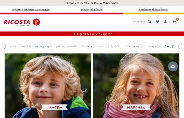Vorschau von www.ricosta.de, Ricosta Schuhfabriken GmbH