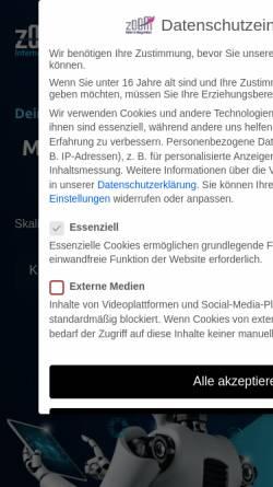 Vorschau der mobilen Webseite www.zoom-internetagentur.com, Zoom Internetagentur - Ingo Weltz