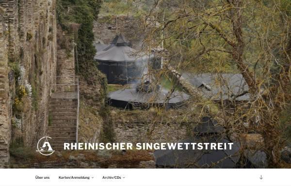 Vorschau von www.rheinischer-singewettstreit.de, Rheinischer Singewettstreit zu St. Goar