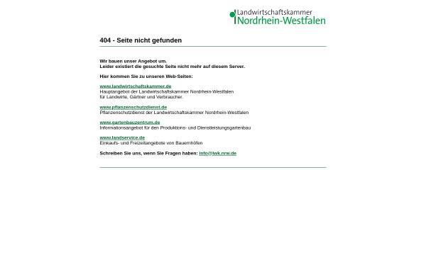 Vorschau von www.landwirtschaftskammer.de, Düsser Ergebnisse zur Ebermast