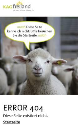 Vorschau der mobilen Webseite www.kagfreiland.ch, Eber statt Kastraten