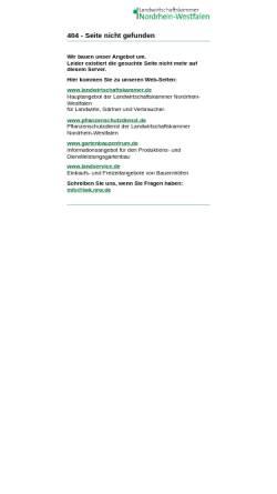 Vorschau der mobilen Webseite www.landwirtschaftskammer.de, Ebermast oder Schmerzlinderung