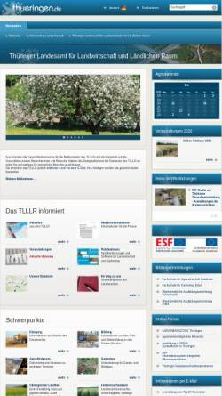 Vorschau der mobilen Webseite www.tll.de, Erfahrungen zur Ebermast - Untersuchungen in Thüringen -
