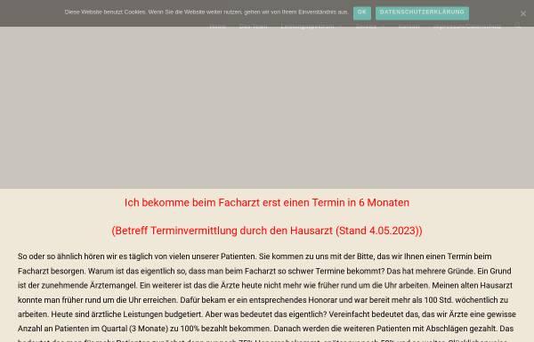 Vorschau von www.praxis-am-kirchhof.de, Praxis am Kirchhof