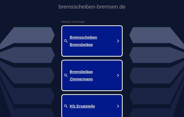 Vorschau von www.bremsscheiben-bremsen.de, Bremsscheiben-bremsen.de