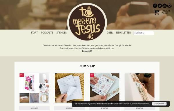 Vorschau von www.meetingjesus.de, Meeting Jesus