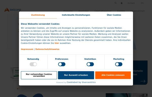 Vorschau von www.axicorp.de, AxiCorp GmbH