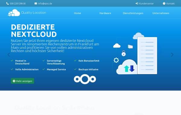 Vorschau von www.qloc.de, Quality Location UG