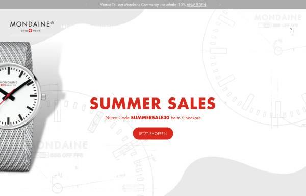 Vorschau von www.mondaine.de, Mondaine
