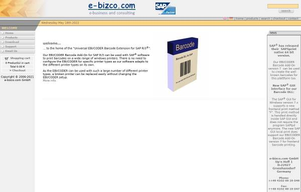 Vorschau von www.e-bizco.com, e-bizco.com GmbH