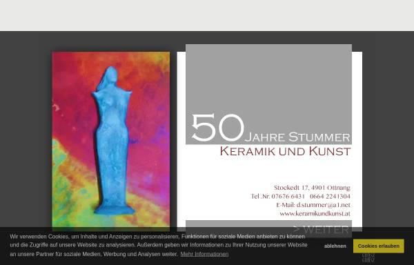 Vorschau von www.keramikundkunst.at, Keramik und Kunst Erwin Stummer