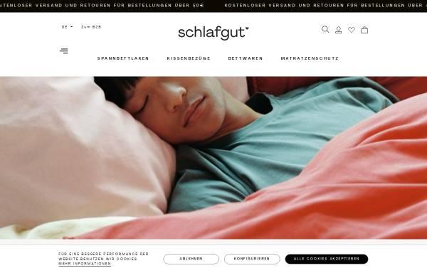 Vorschau von www.schlafgut.com, Adam Matheis GmbH & Co.