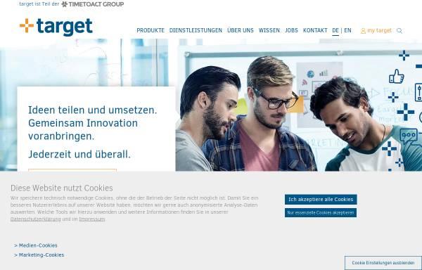 Vorschau von www.target-soft.com, Target Software Solution GmbH