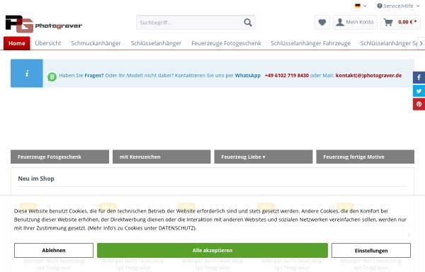 Vorschau von www.shop-fotogravur.de, Fotogravur Photograver Ltd.