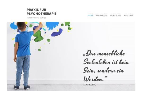 Vorschau von www.talenteundwege.de, Talente und Wege - Manuela Wiese