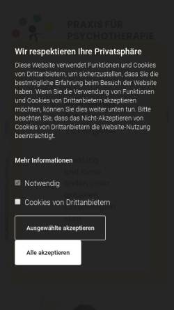 Vorschau der mobilen Webseite www.talenteundwege.de, Talente und Wege - Manuela Wiese