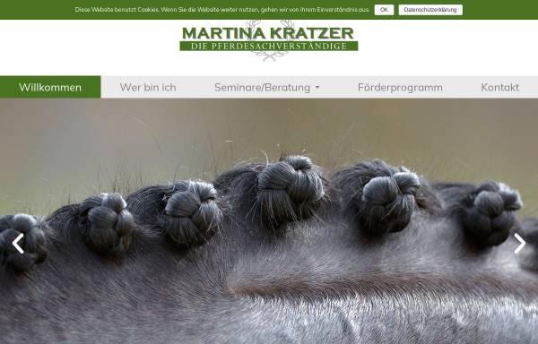 Vorschau von www.die-pferdesachverstaendige.de, Martina Kratzer