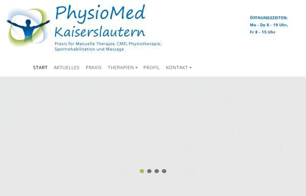 Vorschau von www.physiomed-kl.de, Physiotherapie Kaiserslautern