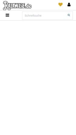 Vorschau der mobilen Webseite www.ralawise.de, Sonatex Textilgroßhandel GmbH