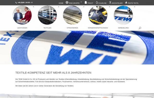 Vorschau von www.tewi.de, TEWI GmbH & Co. KG