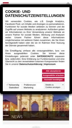 Vorschau der mobilen Webseite www.wangenheim.de, Duken & v. Wangenheim AG