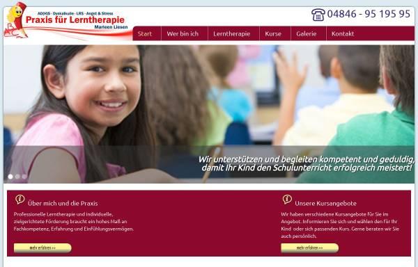 Vorschau von www.lerntherapie-husum.de, Praxis für Lerntherapie