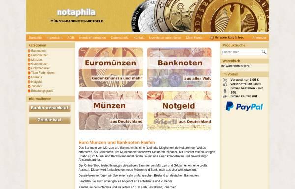 Vorschau von www.notaphila.de, Notaphila GmbH