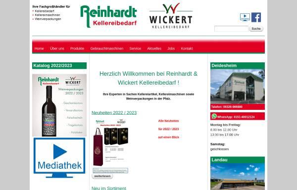 Vorschau von www.reinhardt-kellereibedarf.de, Reinhardt Kellereibedarf GmbH