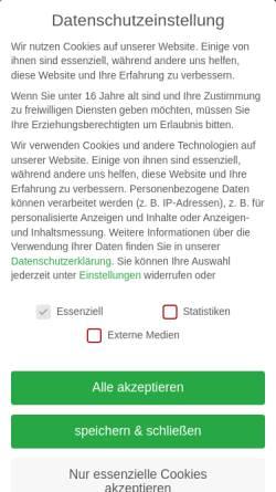 Vorschau der mobilen Webseite www.timbercut.de, Forstdienstleistungen Holm Kollautz