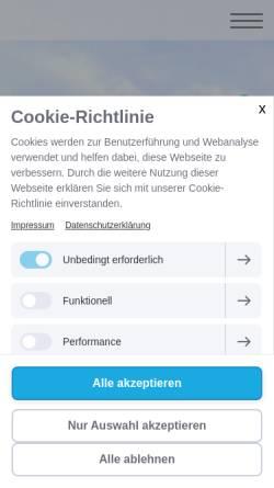 Vorschau der mobilen Webseite www.faethhausverwaltung.de, Fäth Hausverwaltung & Immobilien GmbH